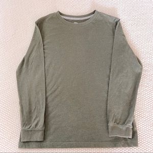 Old navy long sleeve olive shirt